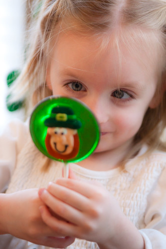 10 | 52: St. Patrick's Day lolly