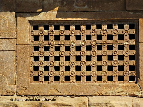 Grill design Ladkhan temple