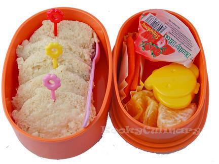 Bento #134 - Homemade bread's the best