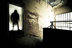Arriva l'uomo nero... (Funky64 (www.lucarossato.com)) Tags: man abandoned scale stairs stair decay fear uomo colonia pericolo luce italians paura abbandono incubo nightamare lucarossato funky64 arrivaluomonero