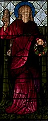 St Mary Magdalene (IanAWood) Tags: london raw stainedglass williammorris putney allsaintschurch churchwindows churchofengland morrisco d3x walkingwithmynikon nikkorpce24f35 surreychurches