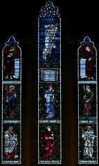 West Window (IanAWood) Tags: london raw stainedglass williammorris putney allsaintschurch churchwindows churchofengland morrisco d3x siredwardburnejones walkingwithmynikon nikkorpce24f35 surreychurches