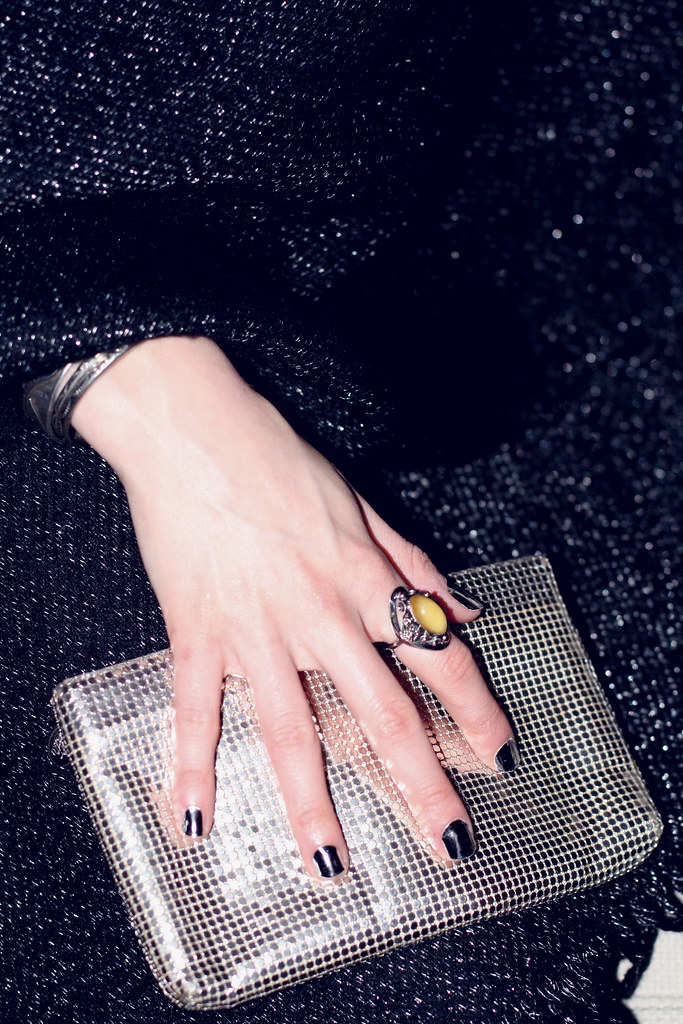 Friday Night DIY: disco nails