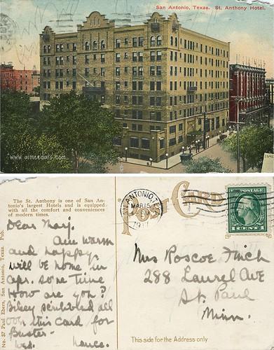 St Anthony Hotel - San Antonio