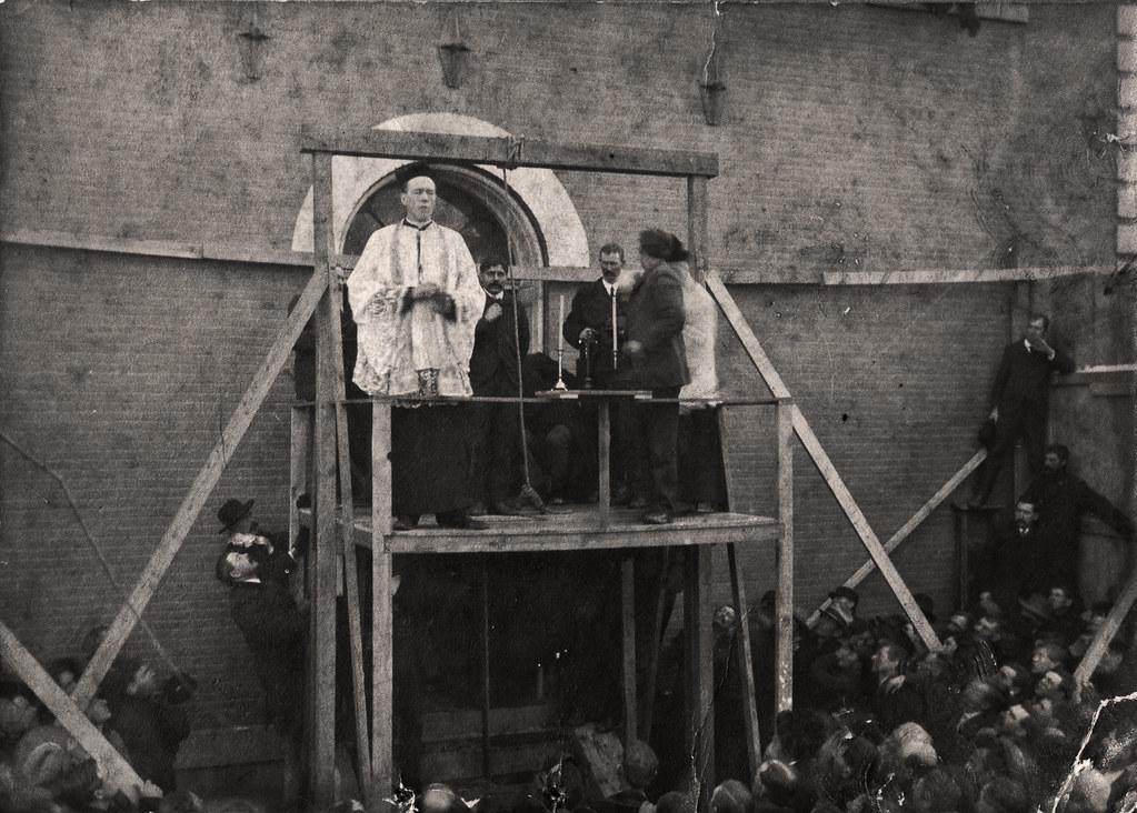 Hanging of Frank Clark