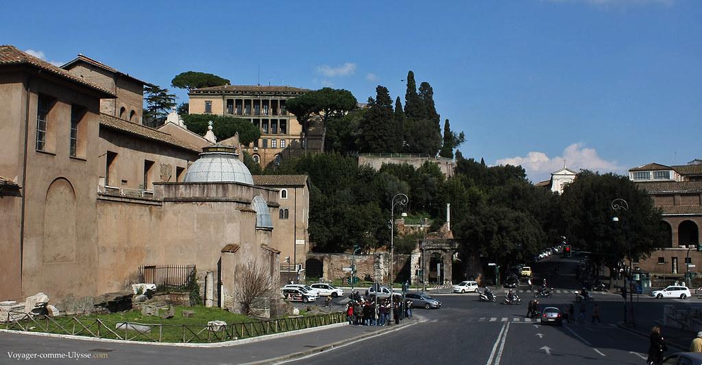 Rome, la ville des sept collines