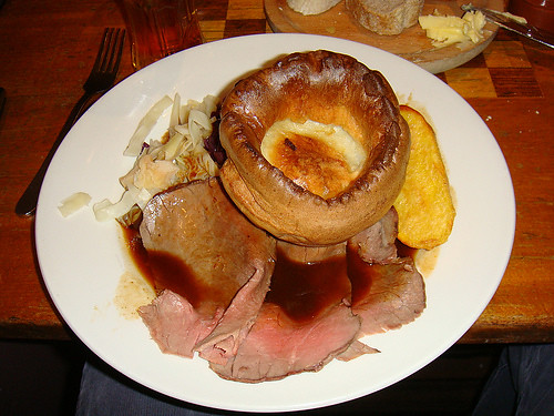 The Duke of Cambridge - Roast sirloin of beef