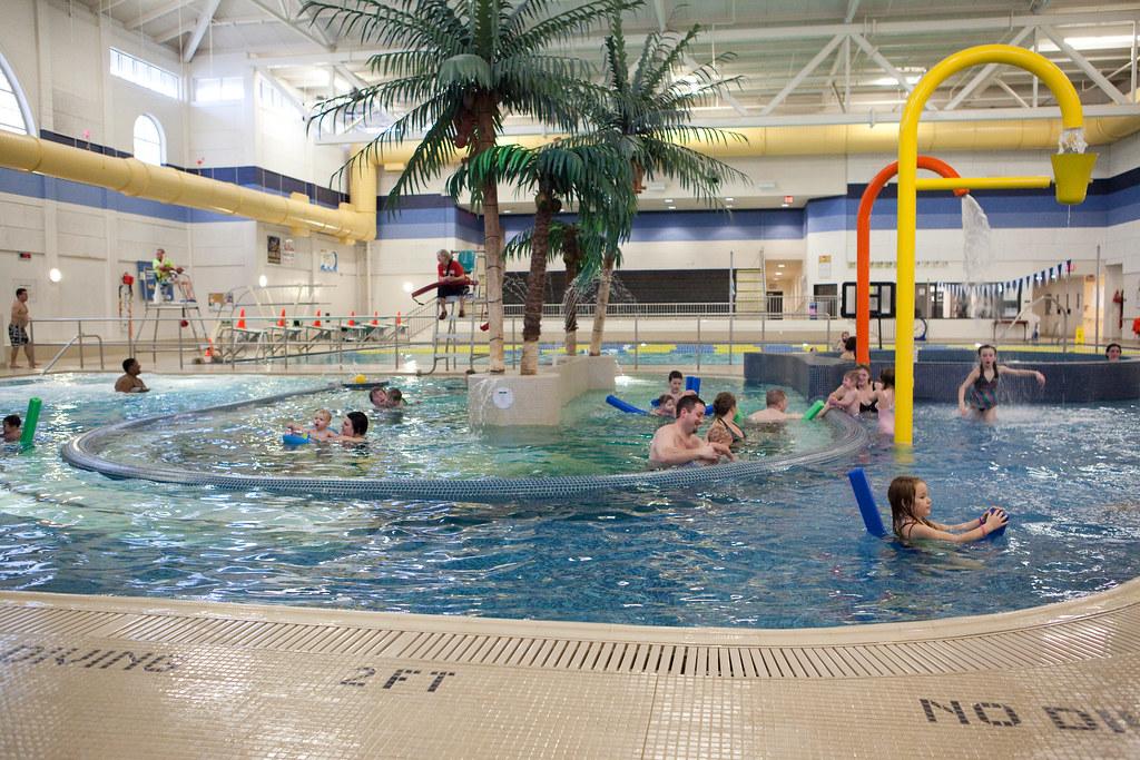 Brayden's Birthday Bash: the pool