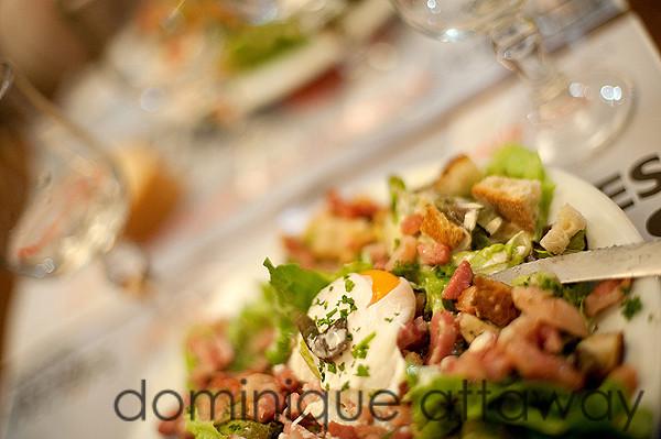 salade lyonnaise- Le Laurencin