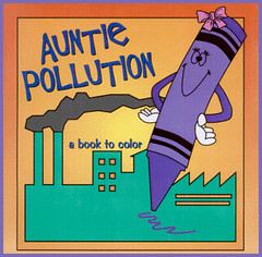 Free Auntie Pollution Printable Coloring Book