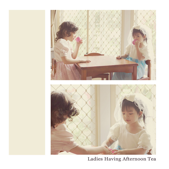 March 10 - Ladies Having Afternoon Tea
