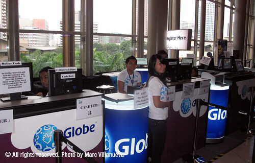 Globe R4H registration center