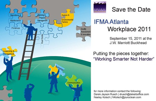 Save the Date_IFMA Atlanta  Workplace 2011