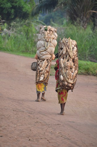 Walking to Bumba