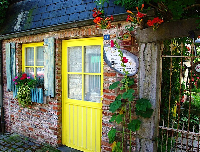 Yellow Door (to fairy tale land?)
