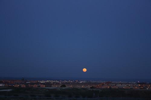 Superluna en Valdemoro