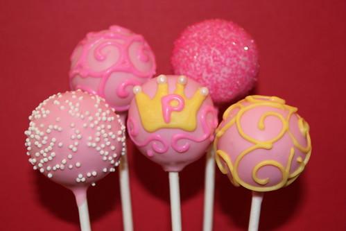 Cake Pop And Cake Ball Ideas Princess Cake Pops