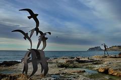 pardals de metall (Pere Sala) Tags: mar mediterraneo alicante pere teulada moraira alacant marinaalta paisvalencia