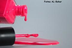 pinky !! (Fatma AL-Bahar) Tags: pink colors nail kuwait fatma q8    albahar