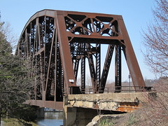 PRR Bridge (Fan-T) Tags: railroad bridge river iron pennsylvania steel beaver rochester pa massive rivet prr