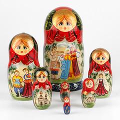 Russian Folk Fun Matryoshka Doll (The Russian Store) Tags: matrioshka matryoshka russiannestingdolls  stackingdoll  russianstore  russiangifts  russiancollectibledolls shoprussian
