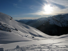southward  (cyberjani) Tags: italy snow ski mountains alps explore dolomiti natureplus
