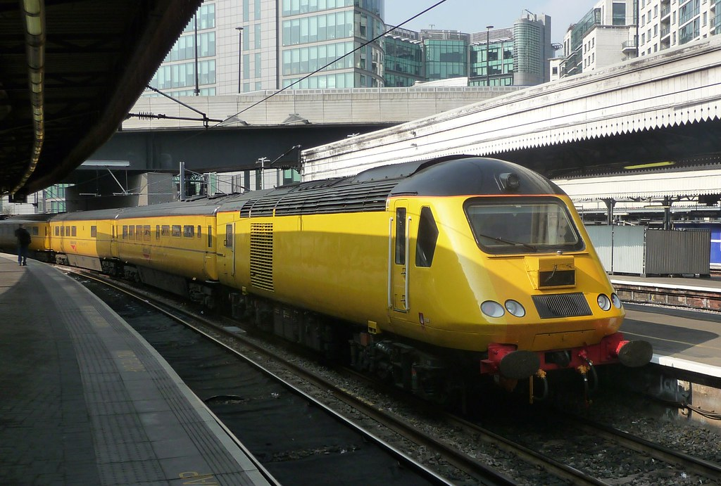 "Network Rail - New Measurement Train (aka ""The Flying Banana"")"