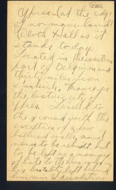 18.1 Ypres Diary