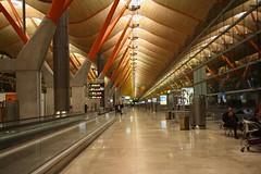 Terminal T4 Barajas- Madrid (gavichi) Tags: world travel espaa town fly spain arquitectura air fiestas terminal viajes turismo aeropuerto moderno iberia t4 aviones barajas vuelos madrdi