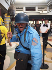 TF2 Soldier (Fernando Lenis) Tags: soldier orlando photos cosplay fernando fl megacon cosplayers 2011 lenis tf2