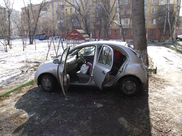 Мартовский Ниссан Марч :)