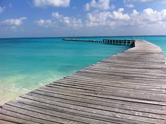 Cancun, Mexico; Ferry Dock (to Isle Mujeres) (BMS-LOU) Tags: ocean blue sea vacation food sun tree mexico photo sunny palm clear mexican photograph cancun caribbean mujeres isle