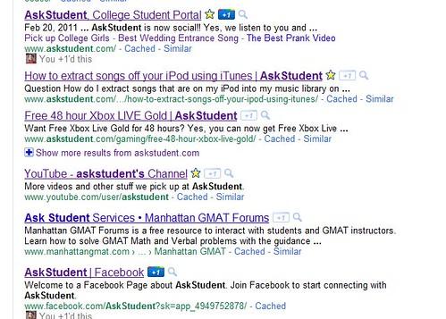 Using Google +1 button
