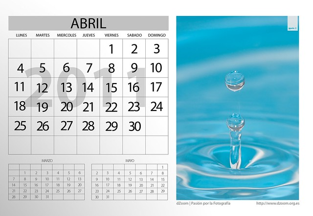Apirila · Abril · April