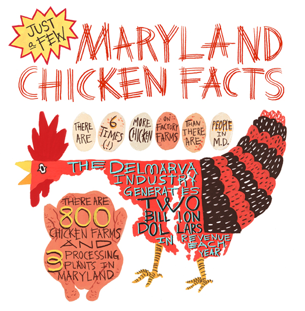 Maryland Chicken Facts