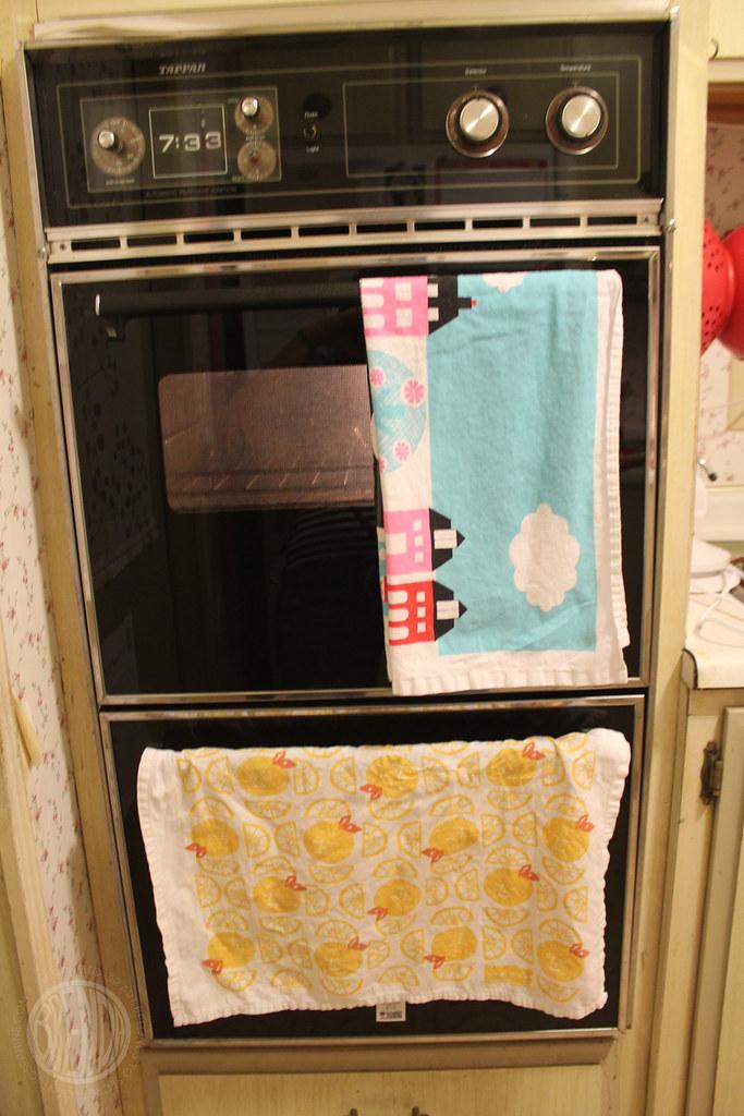 towel racks!