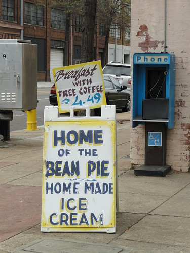 Bean Pie Sign