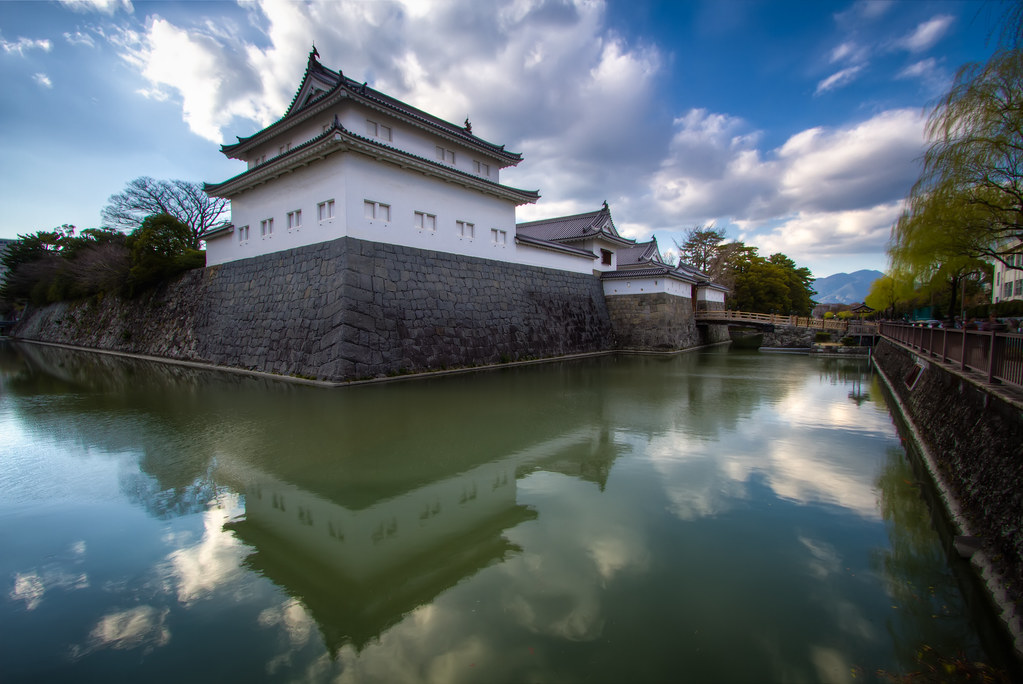 Sunpu Castle Reflection