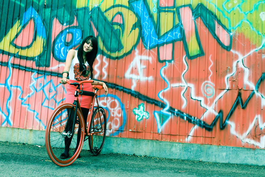 Monique The Fixie Girl #2