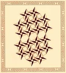 Sepia Zhoubi Zenessalation (Marguerite1997) Tags: sepia tessellation bohemian zentangle