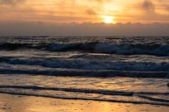 Sunset (martinstelbrink) Tags: leica sunset sky sun beach clouds strand germany surf waves sonnenuntergang sony himmel wolken northsea ostfriesland 90mm sonne nordsee wellen wattenmeer niedersachsen lowersaxony brandung waddensea eastfrisia elmarc leicaelmarc90mmf40 nex7 voigtlndernexvmadapter