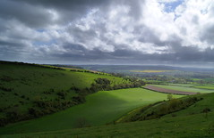 Shadowplay - Explored (GarethA) Tags: cloud landscape dorset fontmell