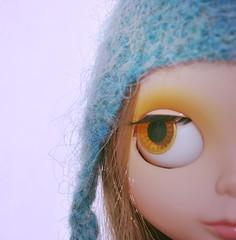 New handfelted hats (Nausica Knits) Tags: hat handmade yarn knitted icelandic handfelted lttlopi glacierblueheather