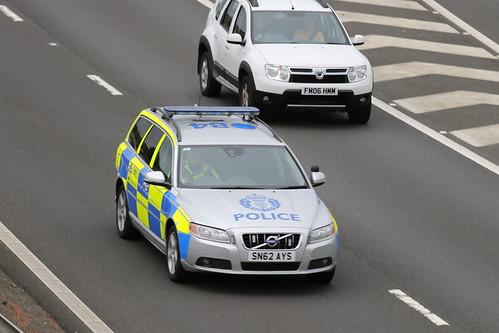 MOSS SN62 AYS VOLVO V70 D5 POLICE SCOTLAND