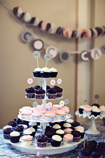 coco cake set up! photo by jeanie ow