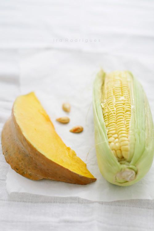 Pumpkin & sweet corn
