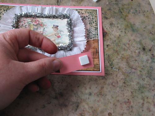 Vintage Valentine #3 - Valentine Plaque Card 012