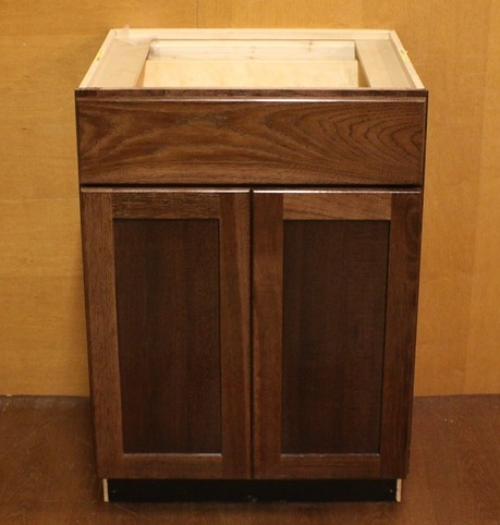 kraftmaid hickory bathroom vanity sink base cabinet 24 ebay