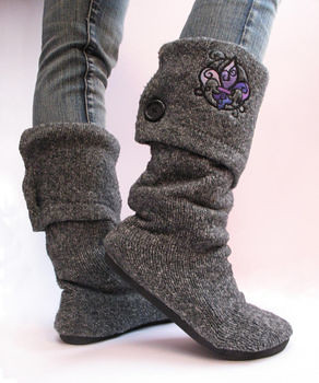 COAK sweater boots tutorial