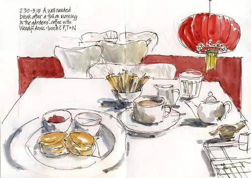 110129 Art Gallery Afternoon Tea